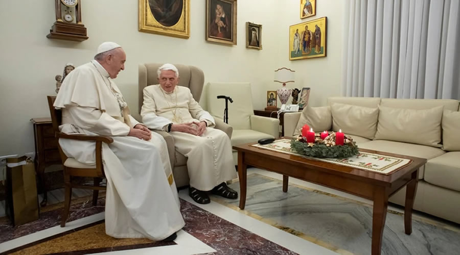 Benedicto y Francisco